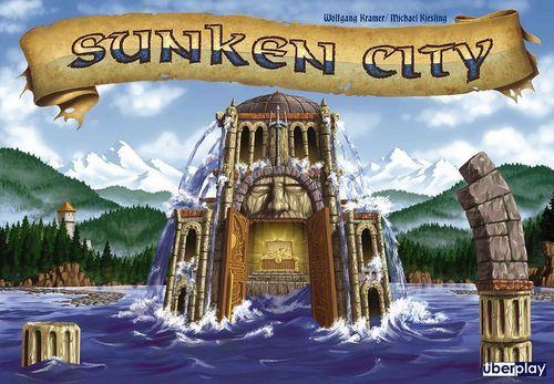 湖に沈んだ街