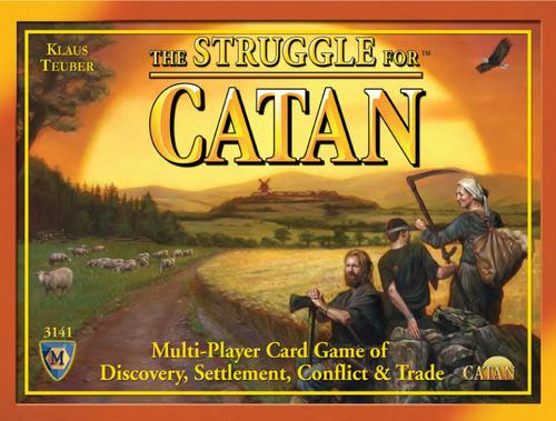 カタンの開拓者たちカードゲーム